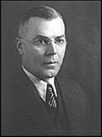 Saskatchewan general election, 1944 - Image: William John Patterson