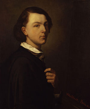 William Strutt - Self portrait of Strutt, 1845