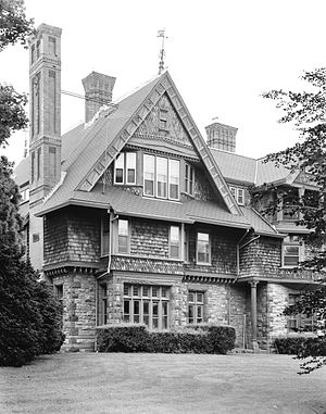 William Watts Sherman House - Image: William Watts Sherman House (Newport, RI) from southeast