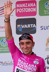 Wilson Cardona etapa 2 Vuelta a Colombia 2017.jpg