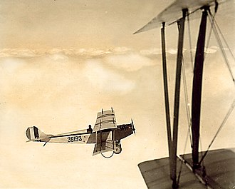 "Wingman - Curtiss JN-4 ""Jenny"" formation."