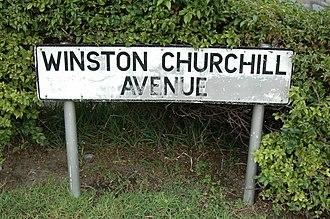 Winston Churchill Avenue - Image: Winston Churchill Avenue Gibraltar