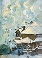 Winter Landscape by Boris Anisfeld (1914).jpg