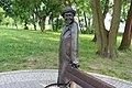 Wisława Szymborska Monument in Kórnik 02.jpg