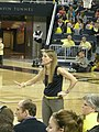 Wisconsin vs. Michigan women's basketball 2013 34 (Kim Barnes Arico).jpg
