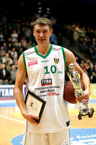 PLK Most Valuable Player - Adam Wójcik owns the tied record of most MVP Awards with three