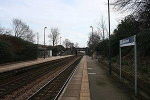 Wombwell railway station - Image: Wombwell railway station AB