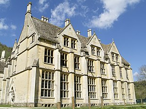 View of Woodchester Mansion showing the south ...