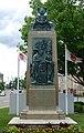 World War Memorial, sculptor unknown, made by T. F. McGann and Sons, Boston, Mass., dedicated 1921 - Leominster, Massachusetts - DSC06177.jpg