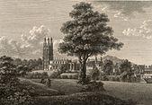 Wrexham church, Denbighshire