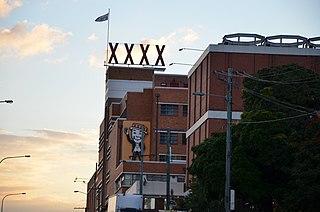 Castlemaine XXXX Australian beer brand
