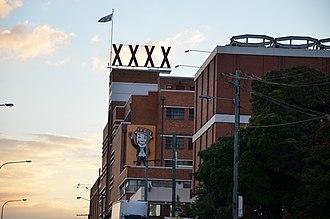 Castlemaine XXXX - XXXX Brewery, Milton