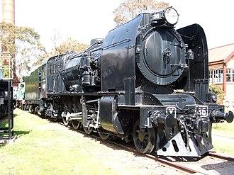 Australian Railway Historical Society Museum - Image: X 36 locomotive