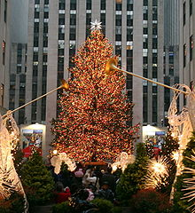 Fotos De La Navidad En Estados Unidos.Tradiciones Navidenas Wikipedia La Enciclopedia Libre