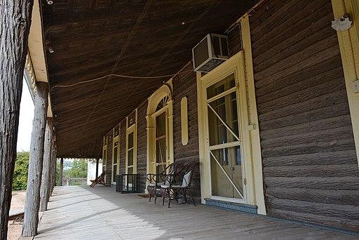 Yanga homestead veranda