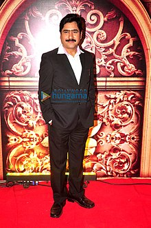 Yashpal Sharma grace the Zee Rishtey Awards 2014.jpg