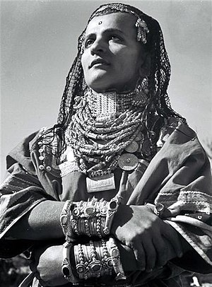Yemenite Jews - Image: Yemenite Jewess