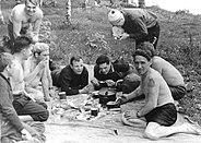 Yuri Gagarin in Dolgoprudny 3