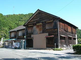 Yuya-Onsen Station Railway station in Shinshiro, Aichi Prefecture, Japan
