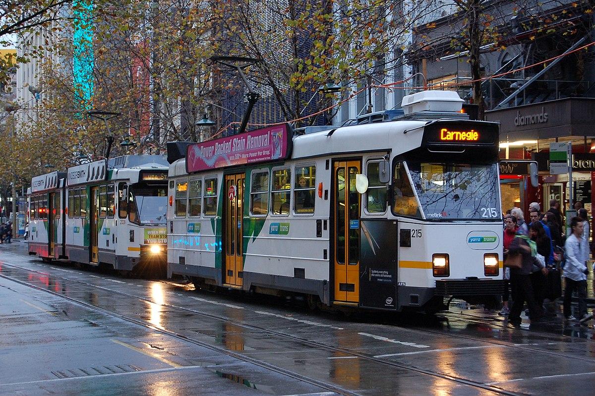 Trams in Melbourne - Wikipedia
