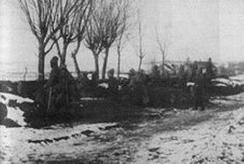 Вояки запорізького корпусу на бойових