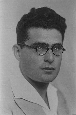 Zev Vilnay - Zev Vilnay in 1935