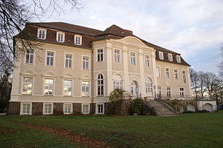 Boldekow Place in Mecklenburg-Vorpommern, Germany