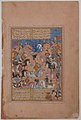 """A Tournament at Arms"", Folio from a Divan (Collected Works) of Mir 'Ali Shir Nava'i MET sf13-228-21-f186-r.jpg"