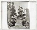 """""""Arcady,"""" George Owen Knapp house, Sycamore Canyon Road, Montecito, California. Upper garden, gates from rose garden to blue garden LCCN2008680074.jpg"""