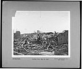 """""""Cyclone View, May 27, 1896."""" (Man in bowler hat sitting among wrecked remains of building after tornado destruction).jpg"""