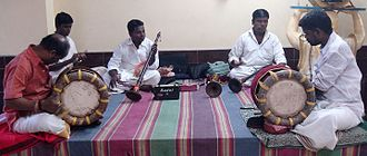 "Music of Tamil Nadu - ""Tamil musical troop"""