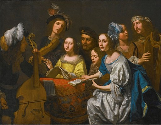 'A Musical Party' by Gerard Van Kuijl
