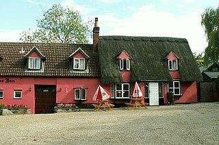 Knowl Green hamlet in Belchamp St Paul, Braintree, Essex, England