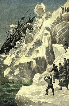 'The Sphinx of the Ice Fields' by George Roux 52.jpg