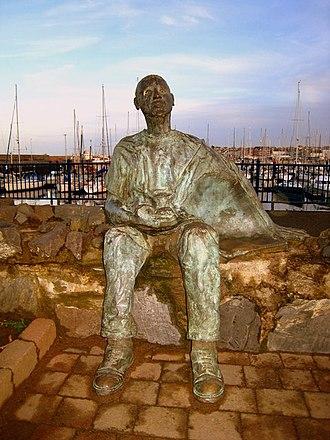 Bangor Marina - Image: 'The pastie Supper' sculpture, Bangor geograph.org.uk 639466
