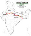 (Jodhpur - Howrah) Express Route map.jpg
