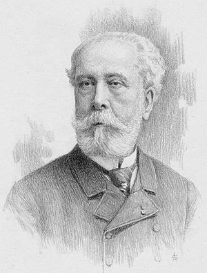Édouard Lalo - Lalo in 1891 (engraving by Richard Paraire)