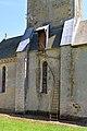 Église Notre-Dame de Torteval-Quesnay. L'escalier montant au clocher.jpg