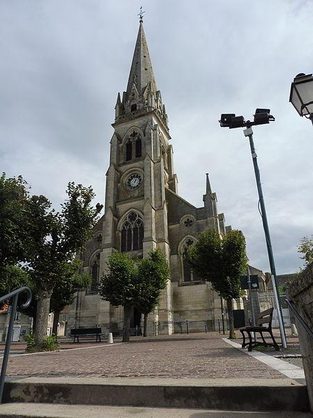 Saint-Martial of Montmorillon Church 1