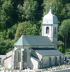The church in Chaux-des-Crotenay