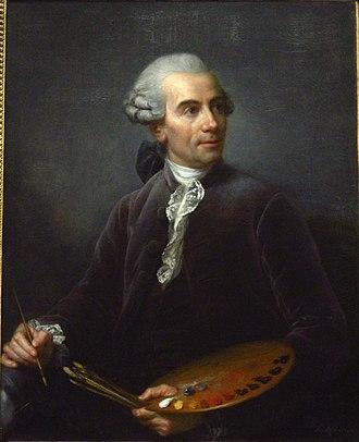 Claude Joseph Vernet - Joseph Vernet, by Élisabeth Vigée-Lebrun