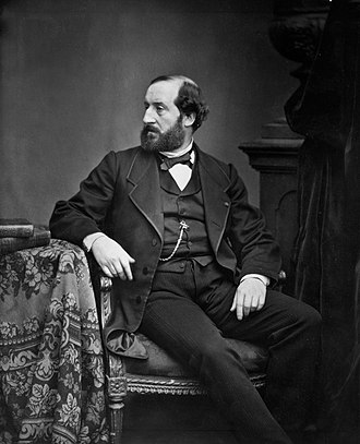 Émile Augier - Augier by Antoine Samuel Adam-Salomon, circa 1870s