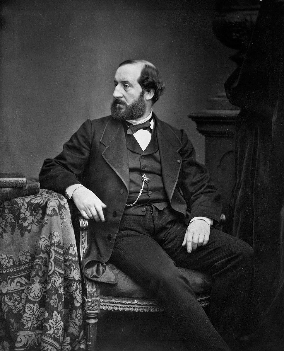 Augier by Antoine Samuel Adam-Salomon, circa 1870s