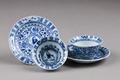 Östasiatisk keramik. Koppar med fat, 2 st - Hallwylska museet - 95773.tif