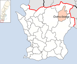 Östra Göinge Municipality in Scania County.png