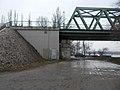 Újpesti vasúti híd, hídfő, 2019 Népsziget.jpg