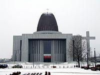 Świątynia Opatrzności Bożej w Warszawie (09.02.2017)
