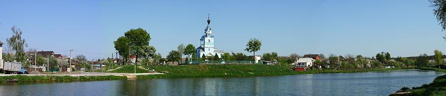 Боярка. Свято-Михайловская церковь на Будаевском городище времен Киевского княжества