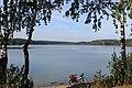 Волчихинское водохранилище. Вид в сторону плотины.JPG