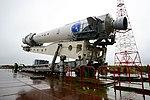 Вывоз и установка ракеты космического назначения «Ангара-1.2ПП» на стартовом комплексе космодрома Плесецк 09.jpg